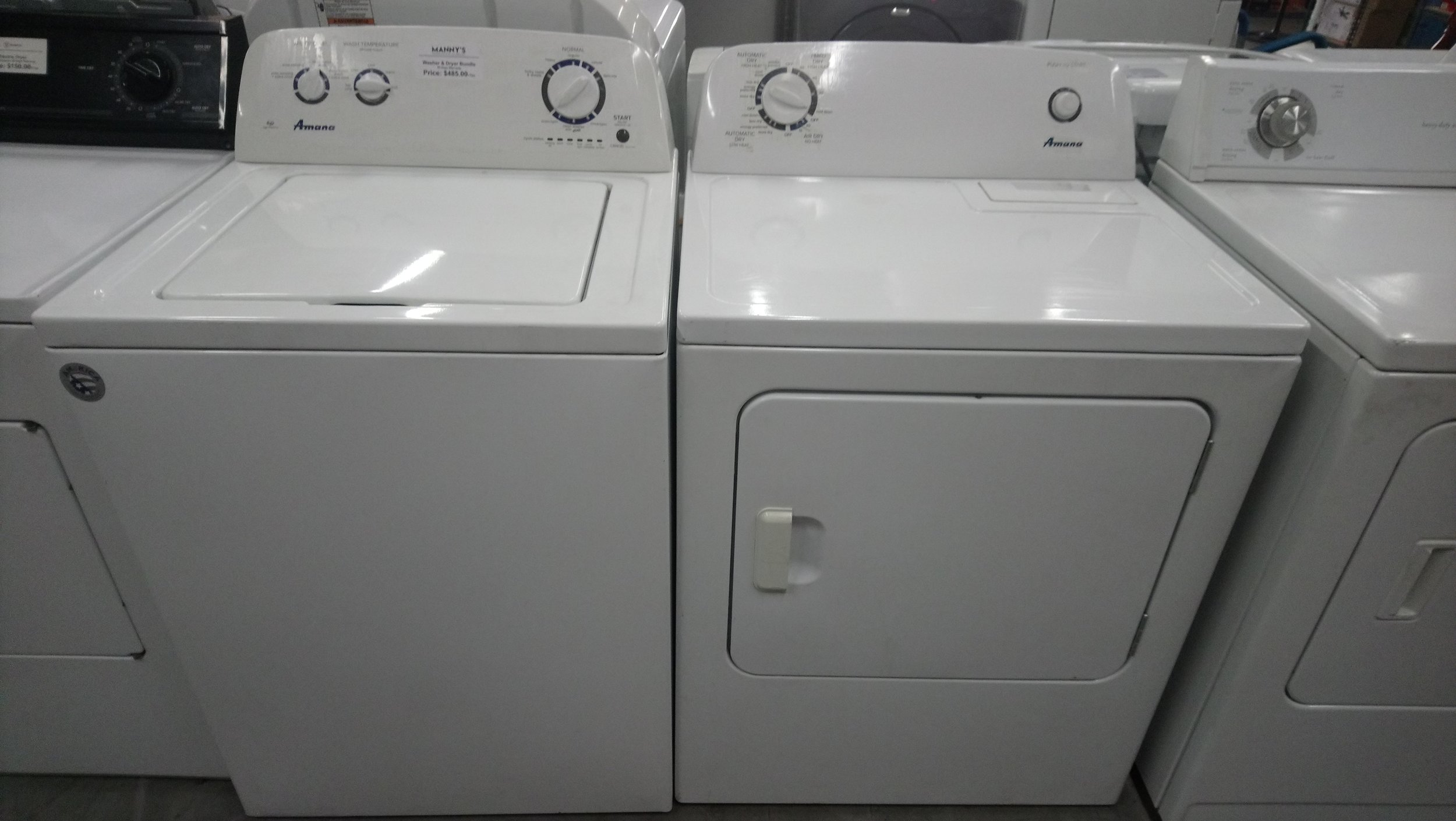 Used Washers & Dryers @ $150.00 and UP ( 3 Months Warranty )