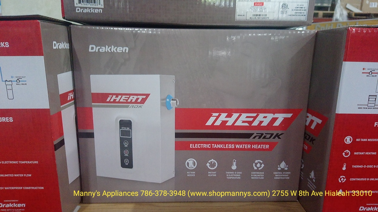 New Electric Tankless Water Heaters @ $225.00 and UP ( 3 Years Warranty )