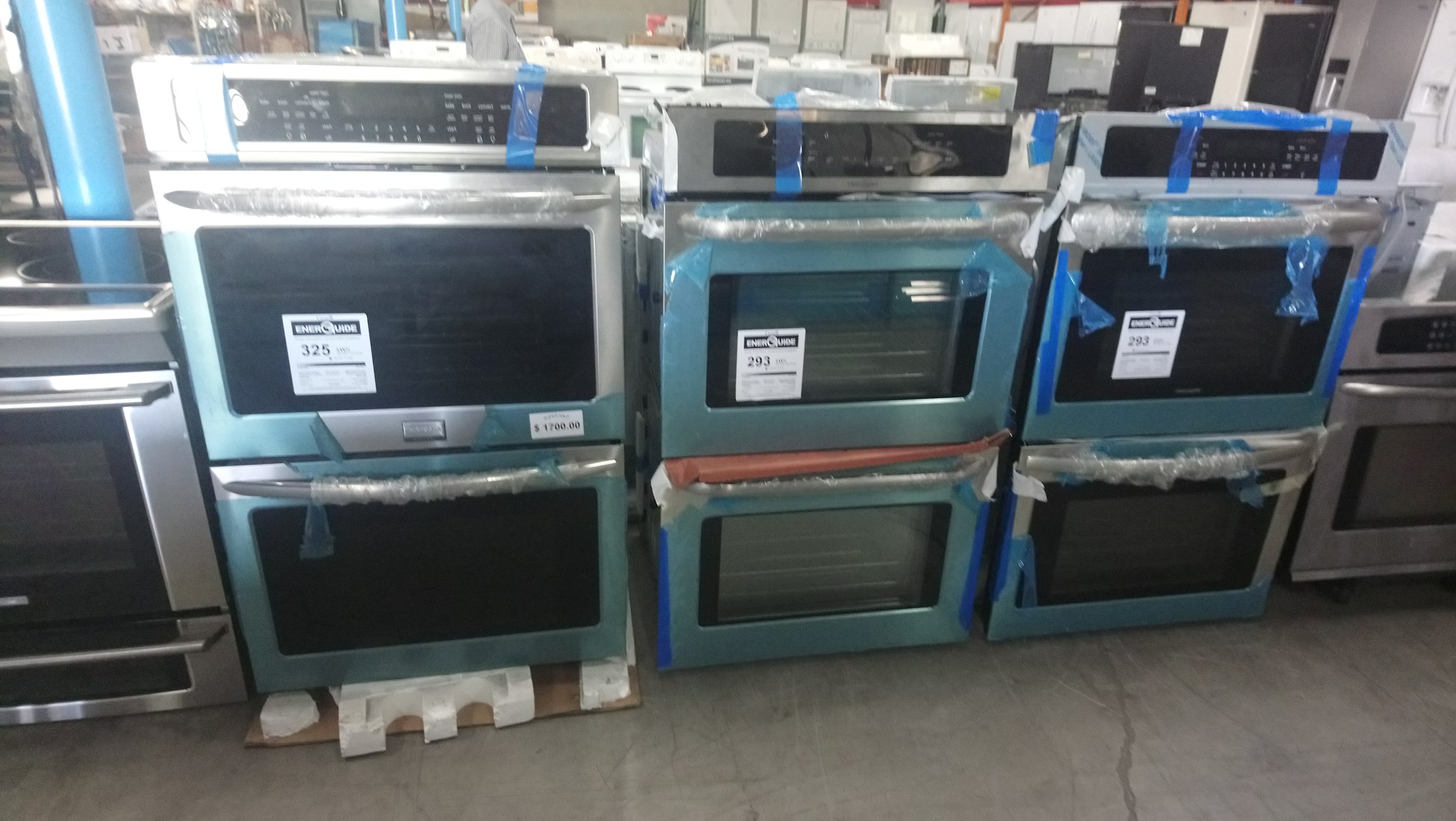 New Wall Double Electric Ovens @ $700.00 and UP ( 1 Year Warranty )