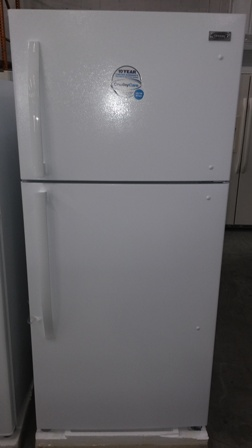 "New 30"" Top Freezer Refrigerator @ $525.00 ( 1 Year Warranty )"
