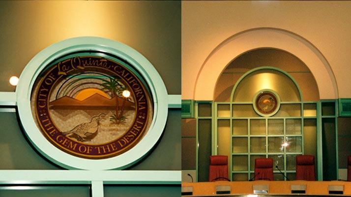 La Quinta, CA City Council Chambers