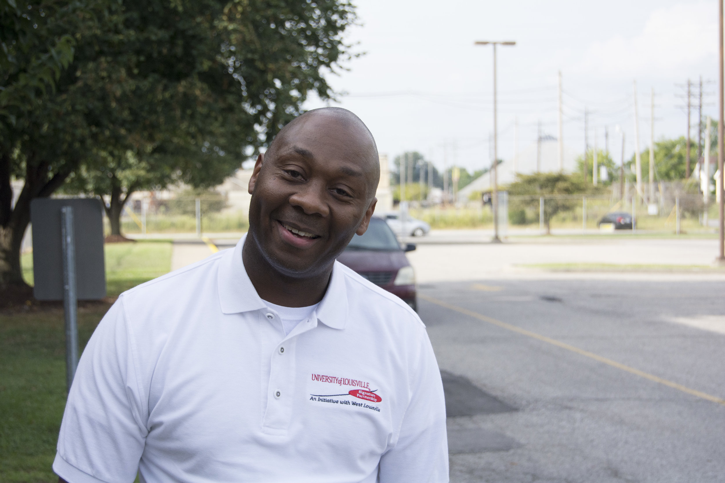 """""""The basic fundamental premise that I have about improving West Louisville is that I don't believe that there are outside forces and outside resources that are going to come and save us, inside West Louisville. I think the solutions to improve West Louisville are ultimately going to come from the people who live in West Louisville. And so, I think it's counterproductive for us to continue to put so much energy into pursuing people, resources, agencies, businesses, leaders, from outside of this community, with hopes of them bringing those resources and ideas back to this community, don't improve it. I think that the solutions that we seek are right here, in our own backyard. I think that rolling up our sleeves and being committed to those solutions and being committed to being apart of those solutions has to be where we start. I think that we start by embracing that fundamental premise, then we get ourselves so much further down the road. I watch so many of us seek outside resources to fix things that I just don't believe will be addressed by people, from outside of this community. I just don't think it'll happen. That's the 30,000 ft level. The more granular level is this notion of us getting out of our homes. We are guilty of it, in West Louisville, just like many other people around this community, in large. We go into our households and we close the doors and watch television, and engage with our own families. We go out, we don't look people in the eye, we don't shake hands, we don't talk. We don't do any of those things. We don't function as neighbors, anymore. I sincerely believe that the solutions that we seek are going to come from us breaking those silos that we live in and doing more to support one another.So, when I think about all of these murders in our communities and these young boys killing other young boys, these are people, by in large, that don't have fathers in their lives and don't have parents that are highly engaged. I think that solutions to h"""