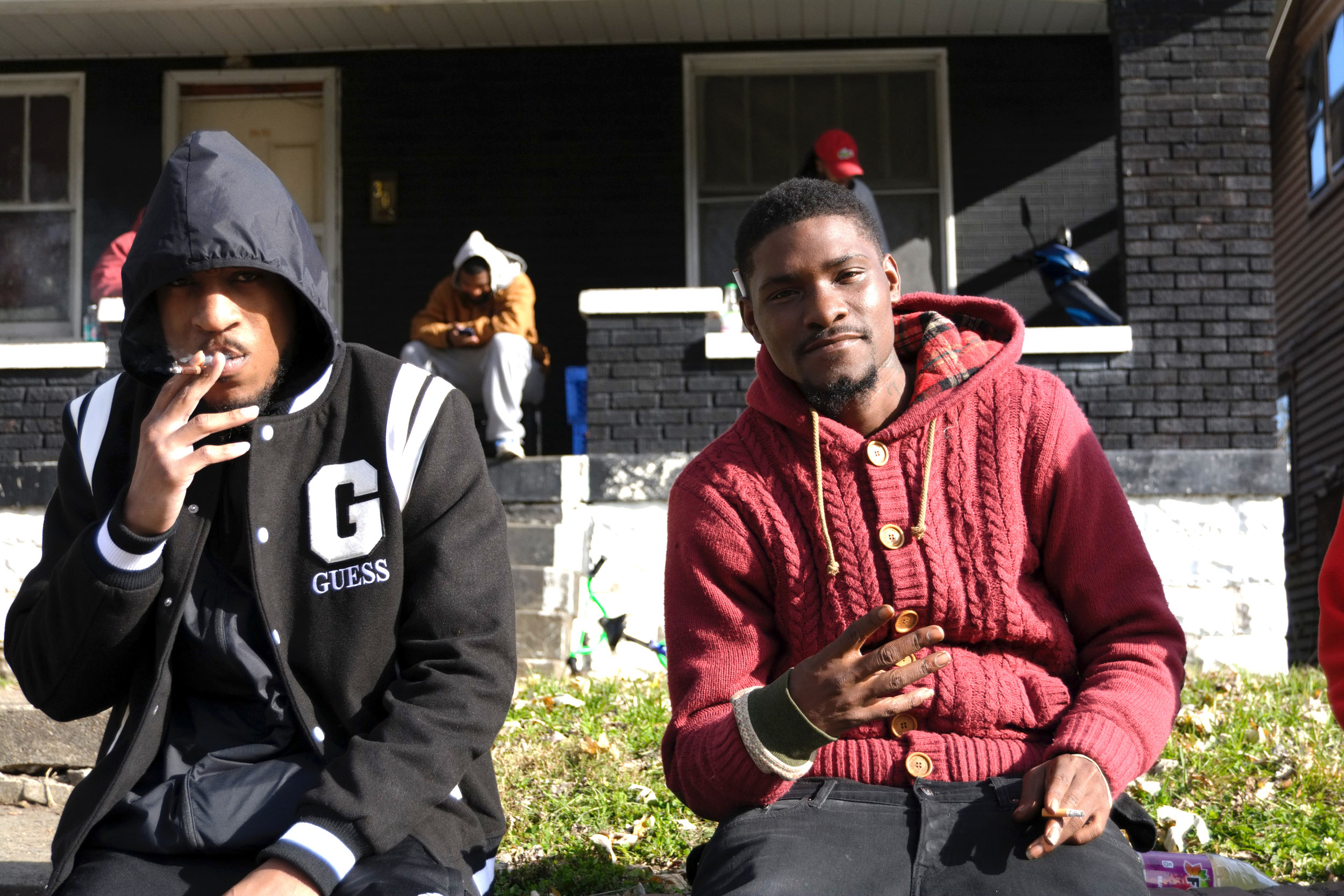 """""""We all we got. Everybody needs to stay positive and do the right things and hope that it spreads around. With all these killings and all that, we just got to come together. If we wanna move forward, we all got to come together."""" - Woo & Brandon, Shawnee"""