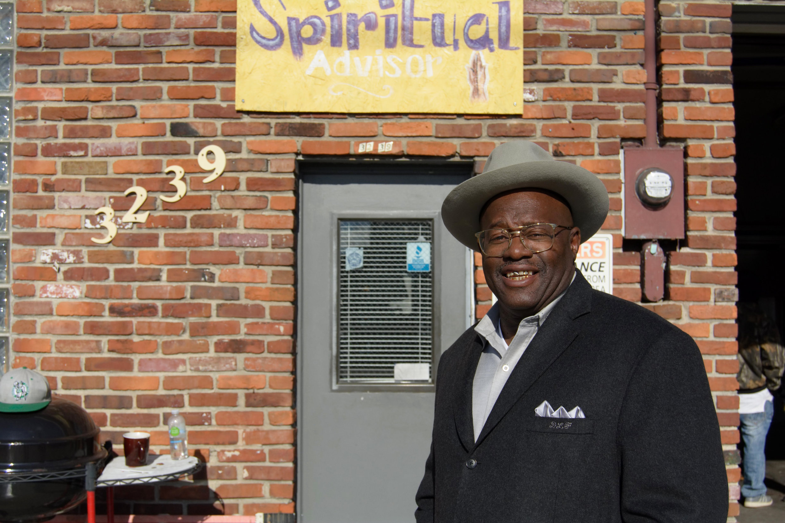 """The West End has a lot of potential. We have a lot of children out here that need some positive role models. They need somebody that can tell them the difference between people, places, and things to not try in life. I think that would start at a church or from somebody that was raised in the 50's. They need someone that would obviously be able to instill positive words, words of affirmation, words of encouragement, words that can enlighten one to do something different other than what they see being done and being exploited on television. So, I think it would start in church and through positive personnel.   The children are confused. They need something to do and they have nothing to look forward to. The man has been out of the home and placed throughout the prison system. I'm thinking that positive character is what these kids need. A lot of them think that there's only one way but I'm here to say that there is another way. It says that, 'All things are possible through God who strengthens us.' I actually believe and spread that. So, if our children are around people doing something different, their outcome would be different. But if we keep shutting the door on them, then the same will come. They just want to be heard.   Be in acceptance of the outcome of your actions. Whatever your actions are, you have to accept the outcome. I mean, if I had to use a biblical term for it, 'He was born to die, that we may live'. If it weren't for crucifixion, there wouldn't have been a resurrection. In order for something to live new in anyone's life, something old has to die."" - Pastor Fortney, Shawnee"