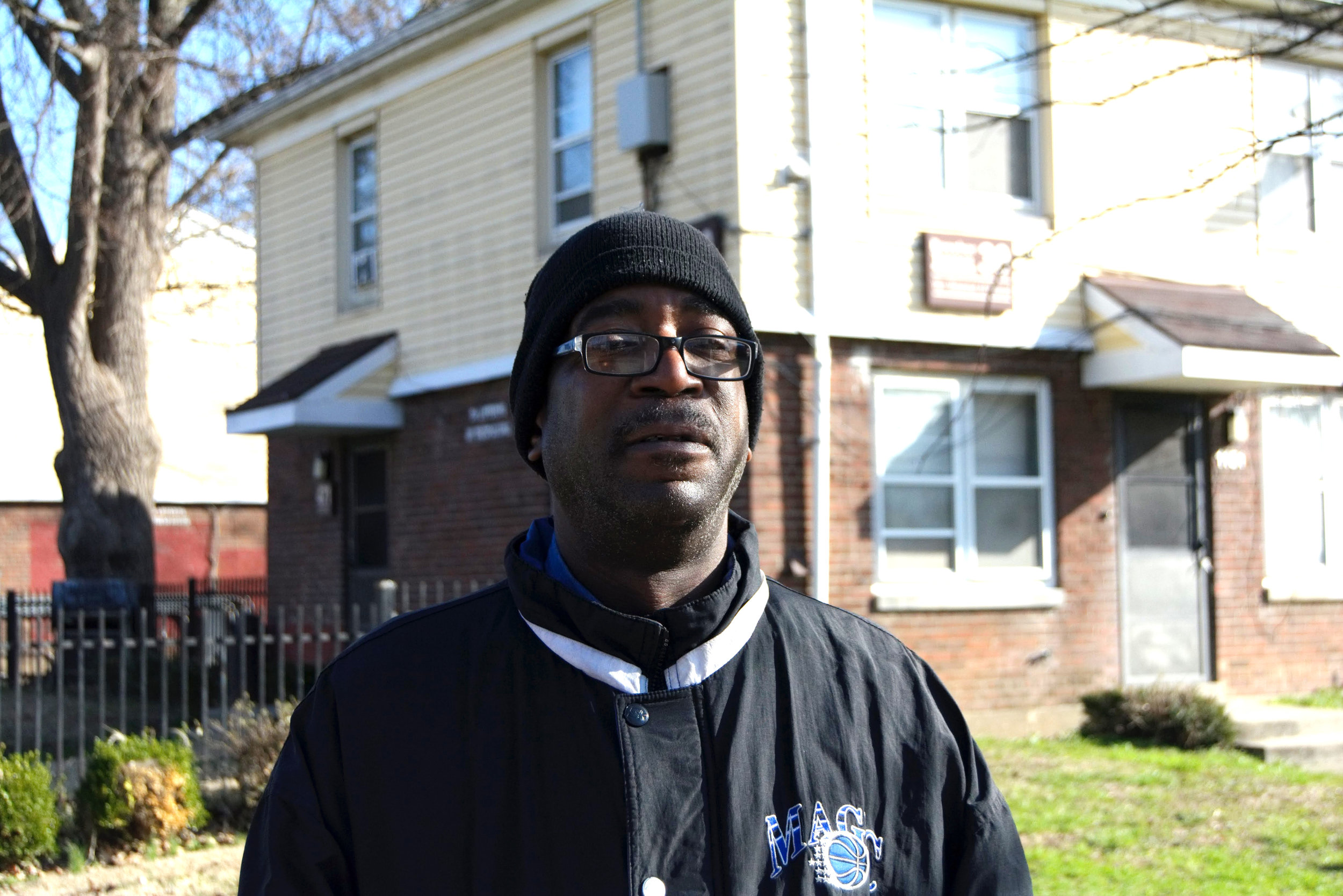 """I grew up around here, across the street. I grew up in that building, right there. If they tear it down, they ain't doing nothing but moving a different group in and then they'll move a different group throughout the rest of the West End. It's a good thing for the city but is it a good thing for us people?  I'm gonna miss it. I grew up down here. Everybody's gone. Everybody I've been knowing for forty something years was over here. I'm gonna miss hooking up with all the people. Everybody would get together on July 4th and Thunder over Louisville and hang out at the park. It'll be people that you haven't seen in years but everybody from Beecher Terrace and Village West would get down here and hook up. I'm gonna miss all of those days."" - Dro, Russell"