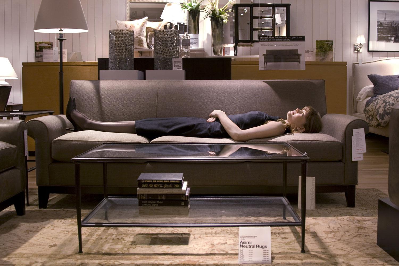 Brentwood Sofa in Khaki