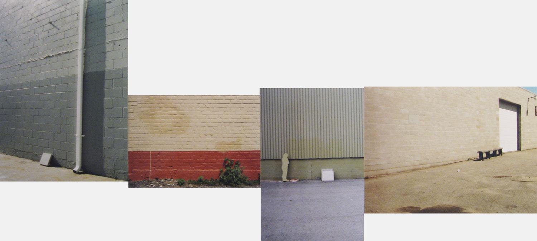 Erasure (drain/ wall/ person/ bench)