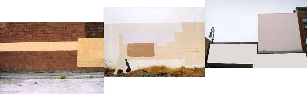 Erasure (wall/ person/ signs)