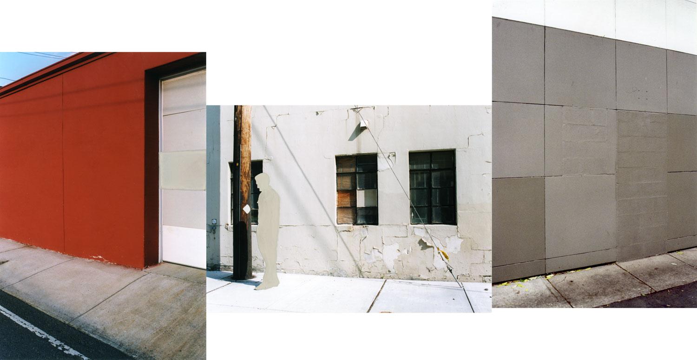 Erasure (garage/ person/ wall)