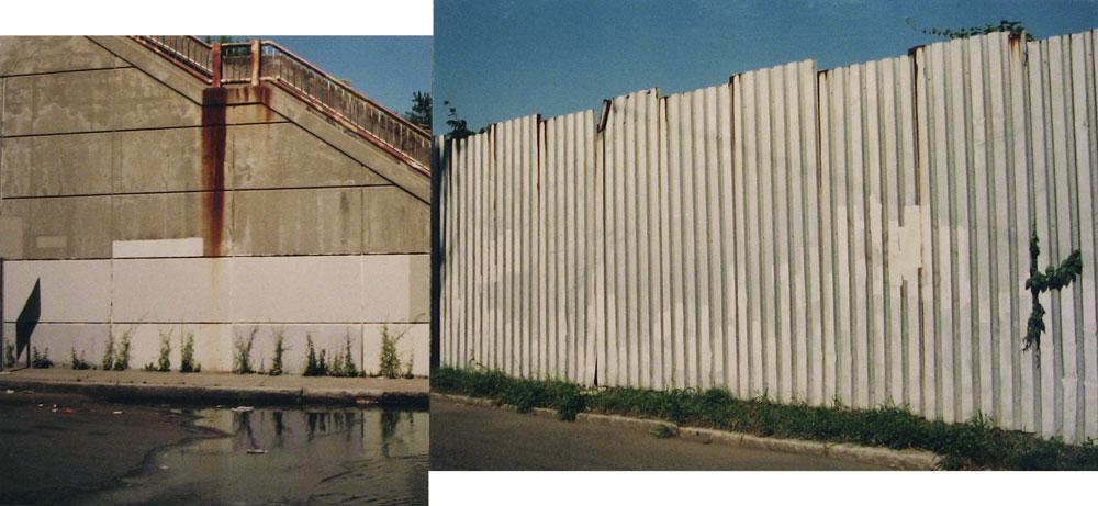 Erasure (stairs/ fence)