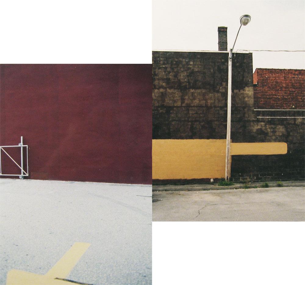 Erasure (pavement/ lamppost)
