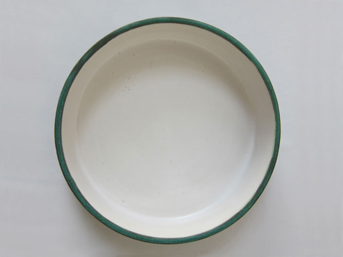 (detail) Bronze Green Dish