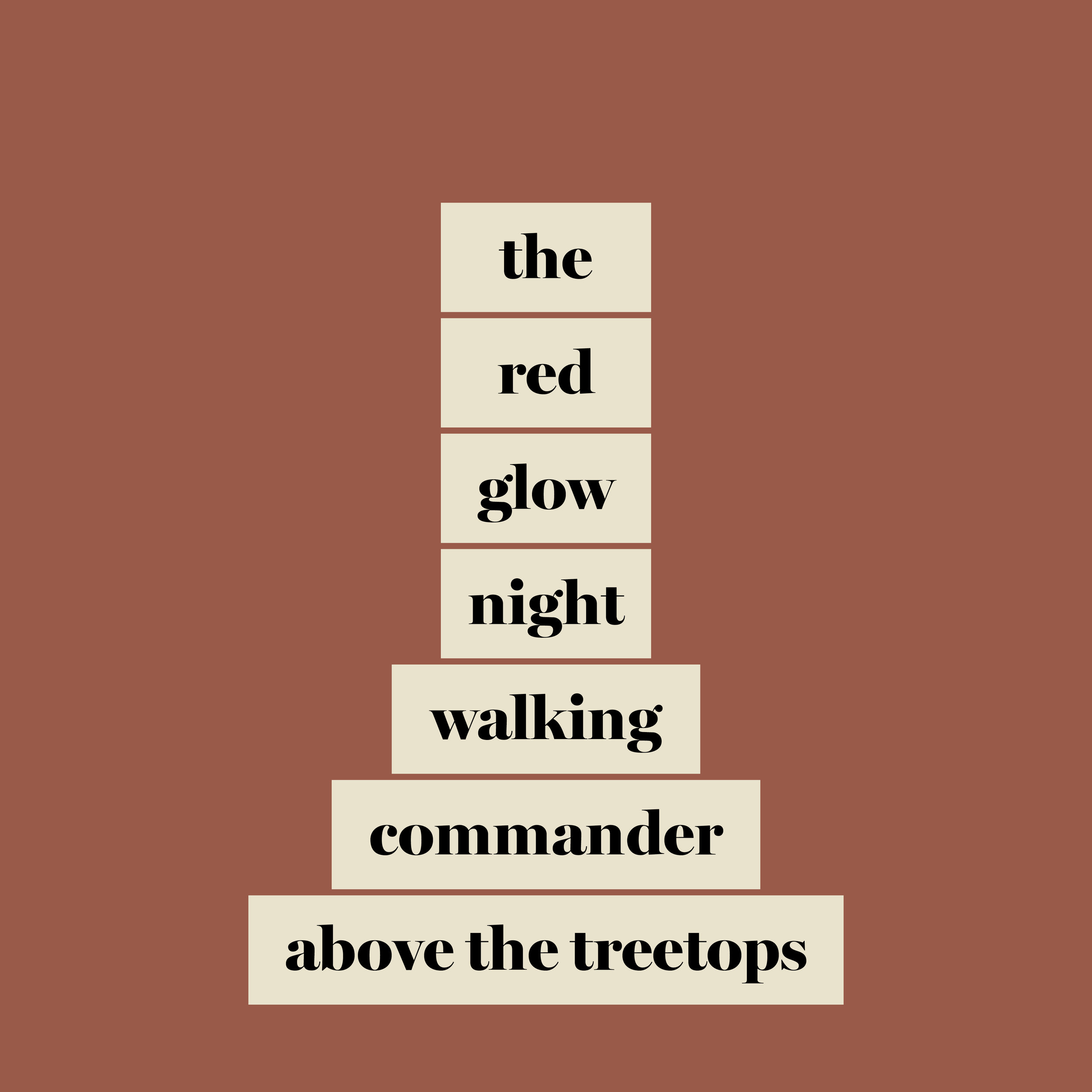 We Were Here, the red glow