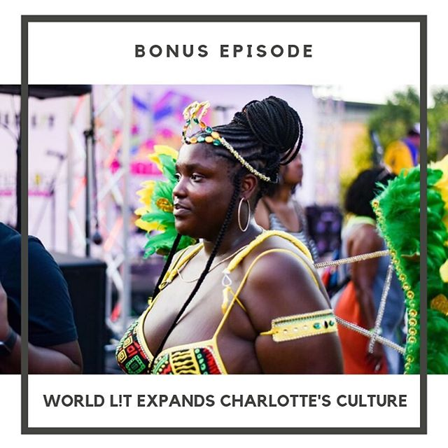 In this bonus episode, meet the wonderful creator of @world_lit : Brandi. In a few quick years, she took an Instagram page that promoted cultural experiences and turned it into Charlotte's first-ever street food festival. •  Brandi sits down to talk with @perrinedeshield in a fun (and explosive) interview about everything ranging from being a culture junkie to the importance of celebrating underrepresented communities in the south. • ✨Click the link in our bio to listen now & find us wherever you get your pods!✨