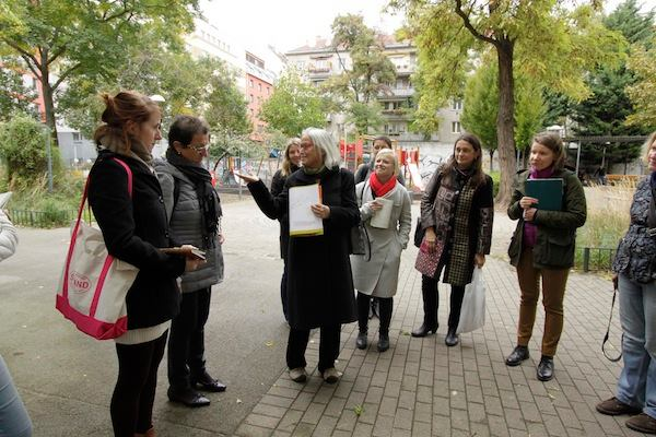 Gender mainstreaming in urban planning study trip to Vienna