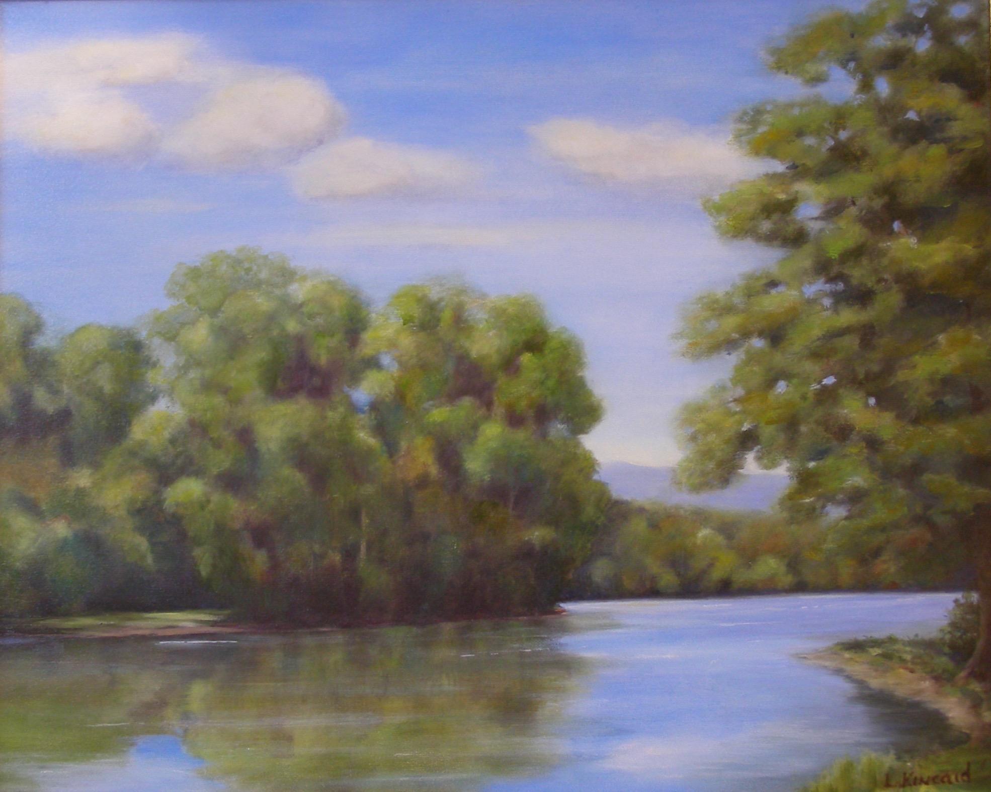 Shenandoah River; oil on canvas; 18 x 24;   SOLD