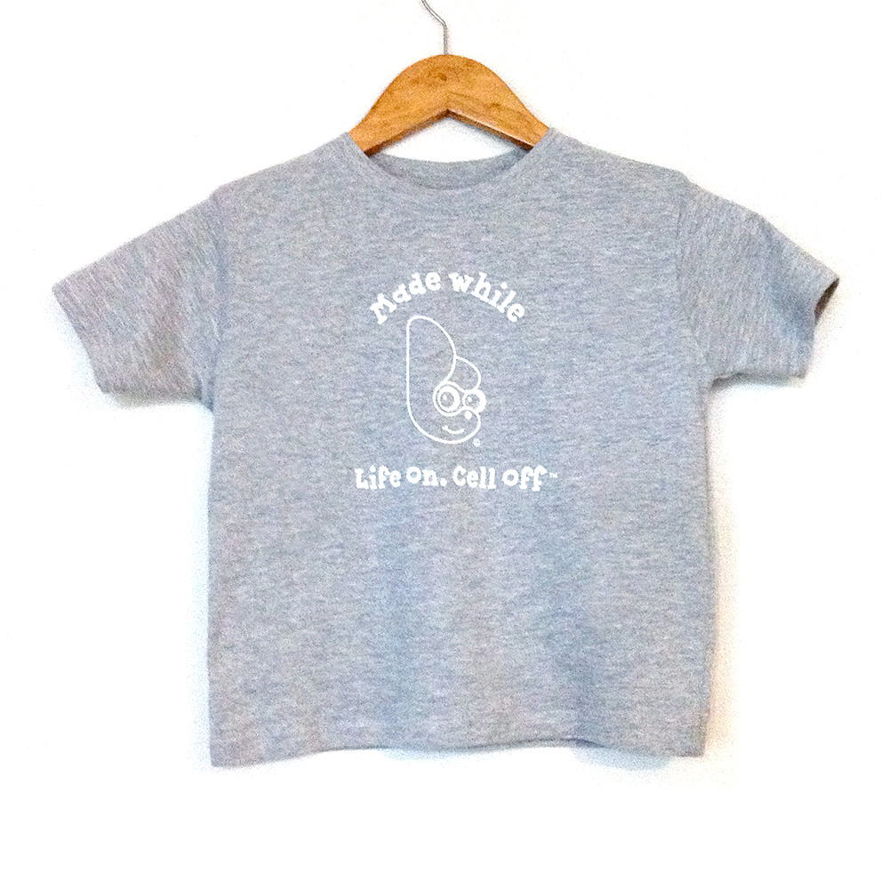 Lo.Co Toddler Unisex Gray T-shirt - 2T - 26