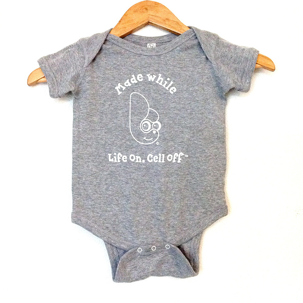 Lo.Co Infant Unisex Gray Onesie - 6 mths - 18
