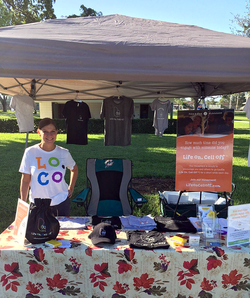 Co-founder Michelle at the Naples (FL) 1st Momtrepreneur Expo - October 2018. Showcasing local mom powered businesses. Thank you  B & E Boutique ! Expo benefiting  Nickels for Nutrition .
