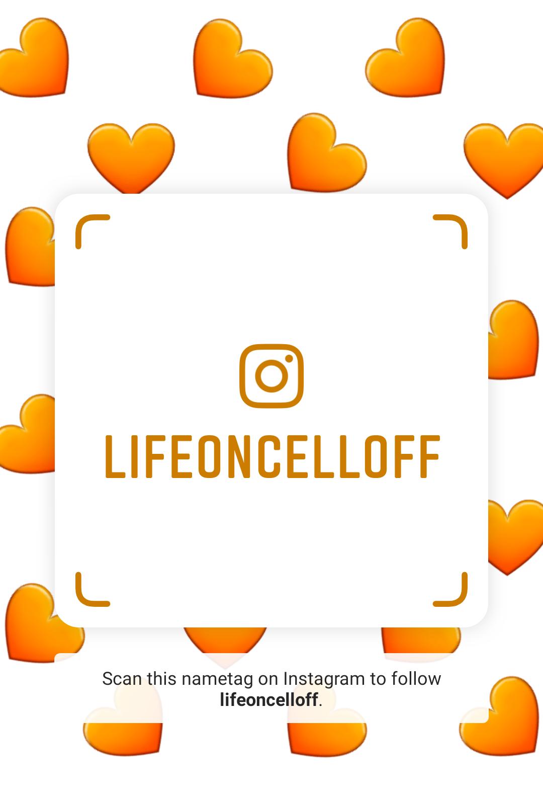 Follow us @LifeOnCellOff