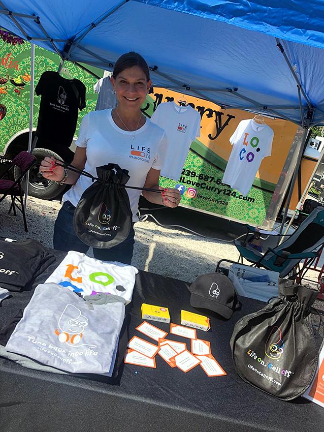 Love Your Body, Love Your Planet at Celebration Park, Florida. Vendor & Crafts Fair, Eco-friendly Event - February 2019.