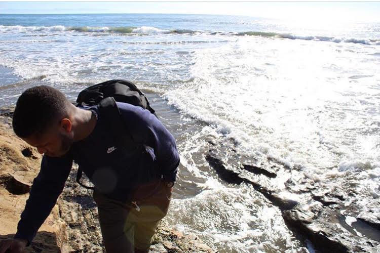 Jarami at Natural Bridge State Beach, Santa Cruz, California