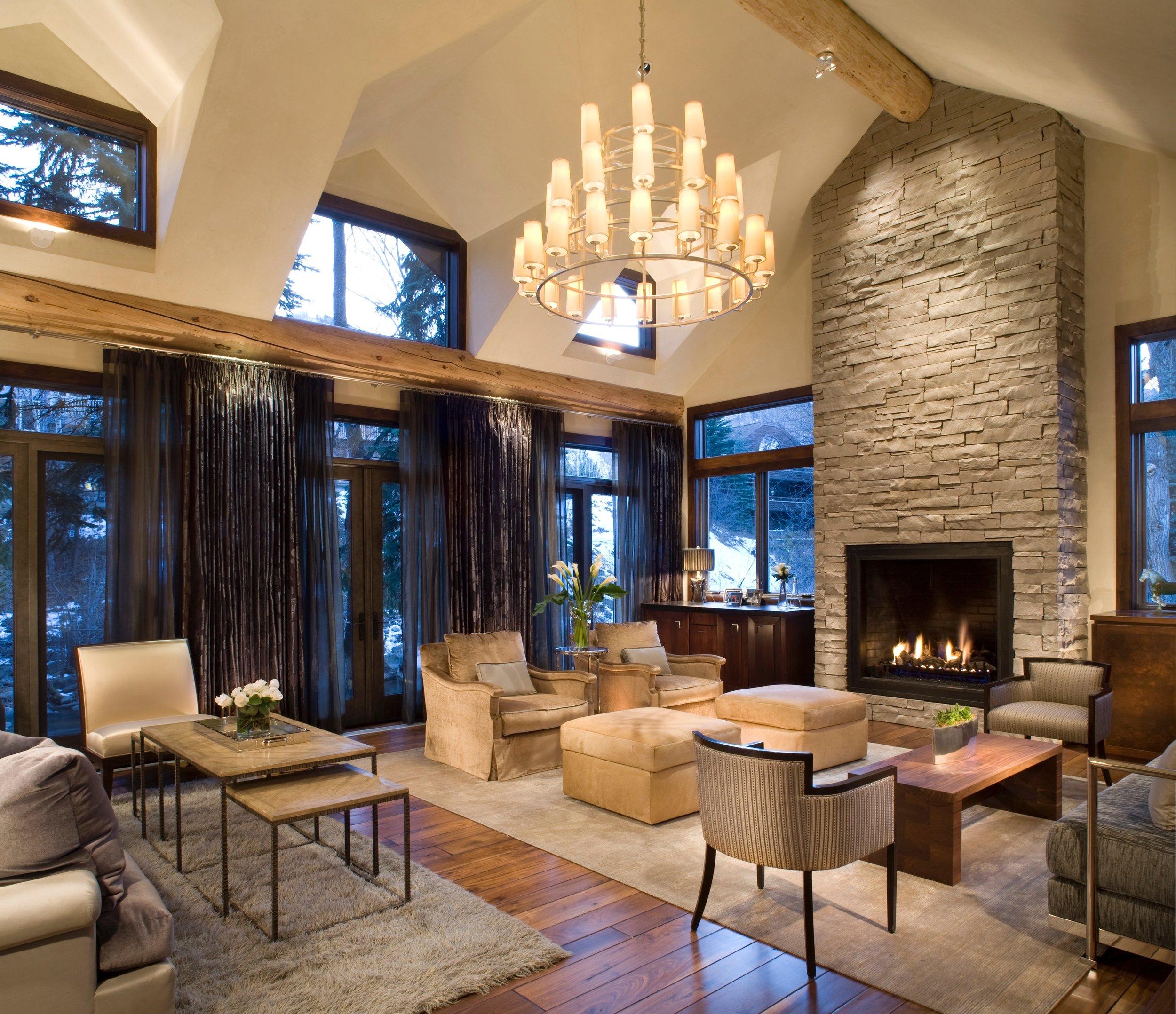 river house Livingroom after