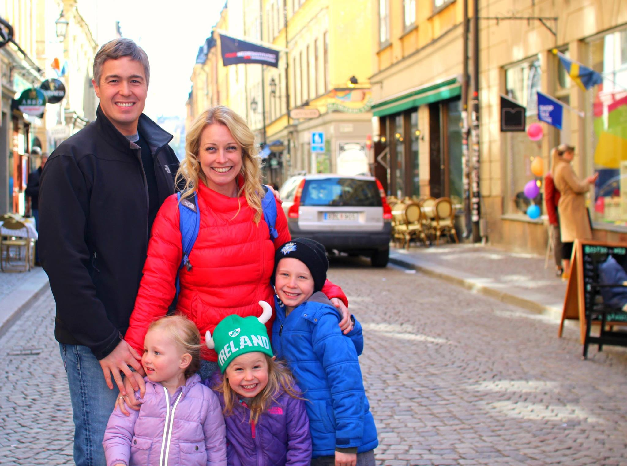 Exploring the streets of Gamla Stan in Stockholm
