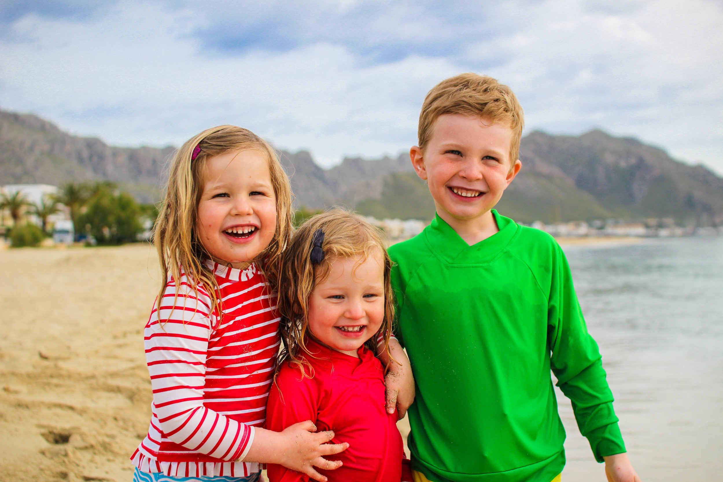 Family vacation on Mallorca, aka paradise!