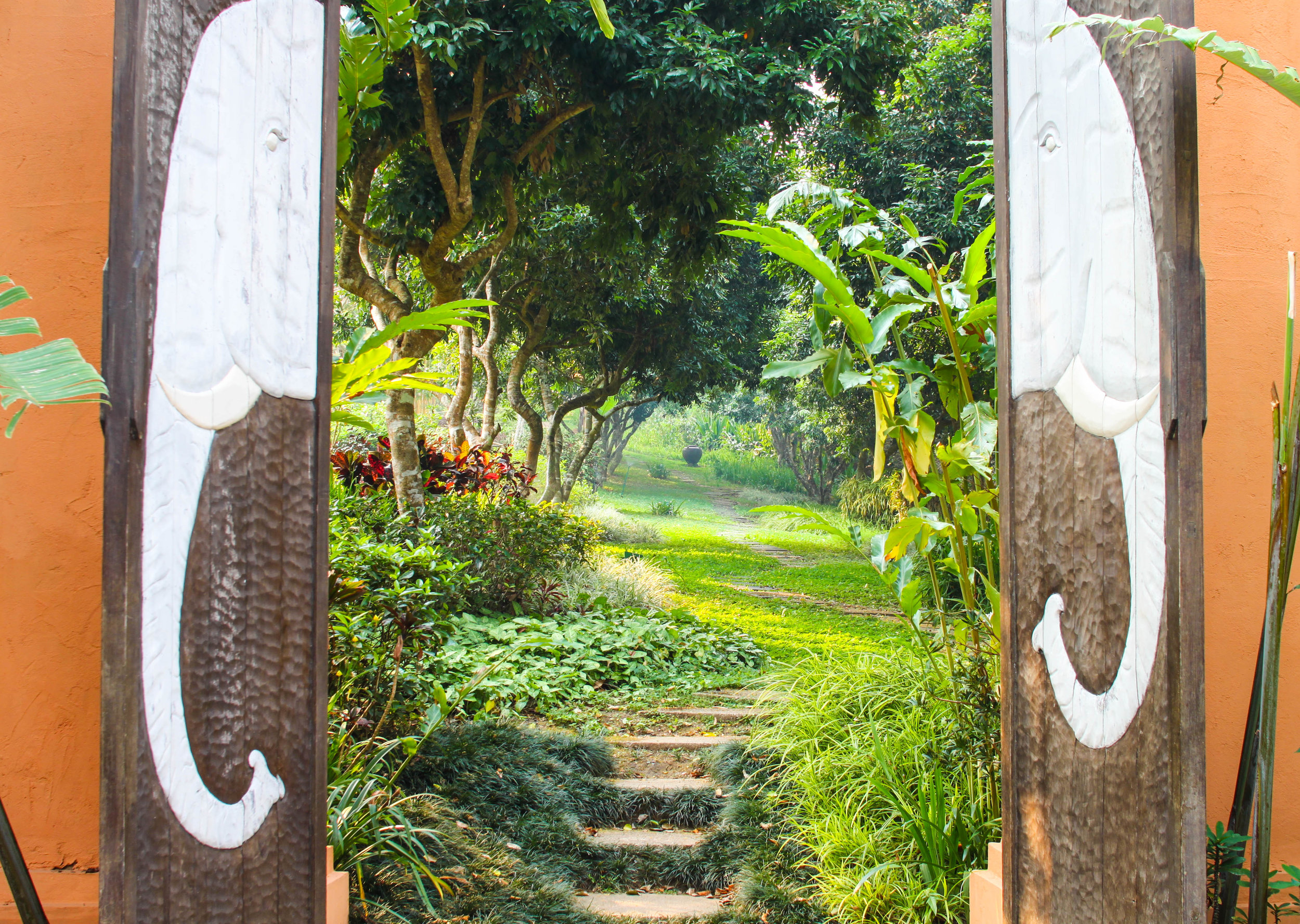 Welcome to the beautiful Anantara Golden Triangle. This place is a literal paradise.