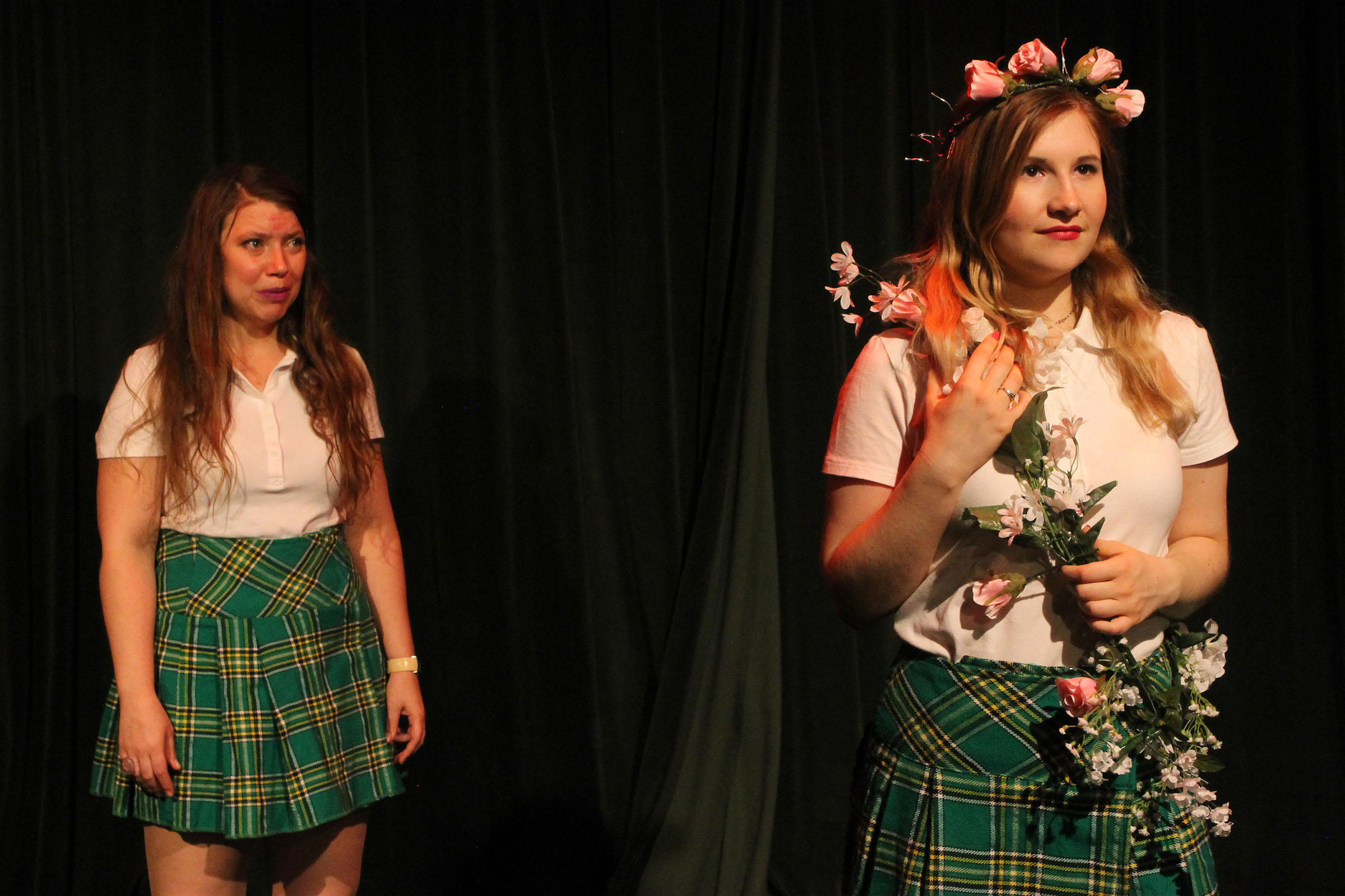 Melissa Fennewald as Lou Lou, Emma Carter as Mary Sue