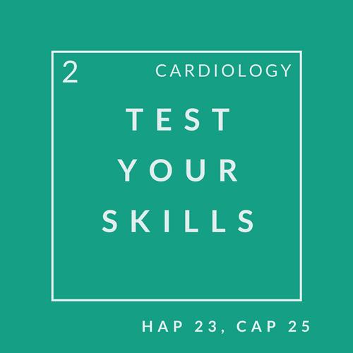 Cardiology Quiz 2