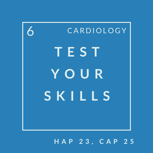 Cardiology Quiz 6