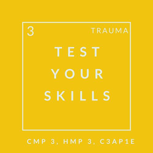 Trauma Quiz 3