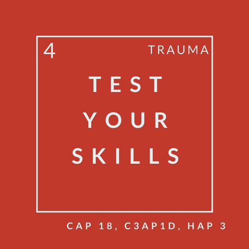 Trauma Quiz 4