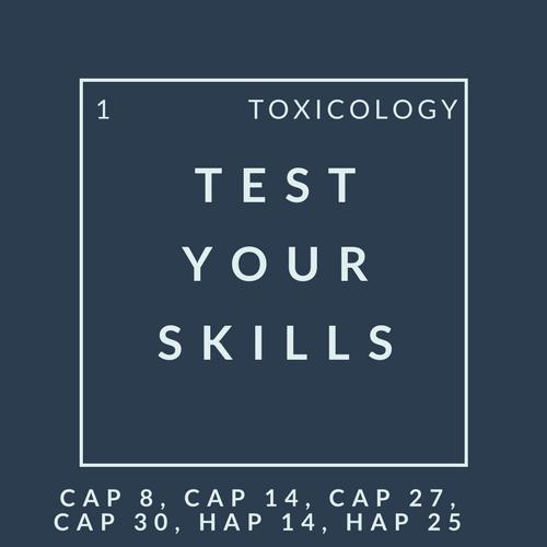 Tox Quiz 1