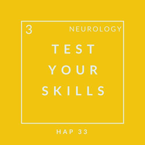 Neuro Quiz 3
