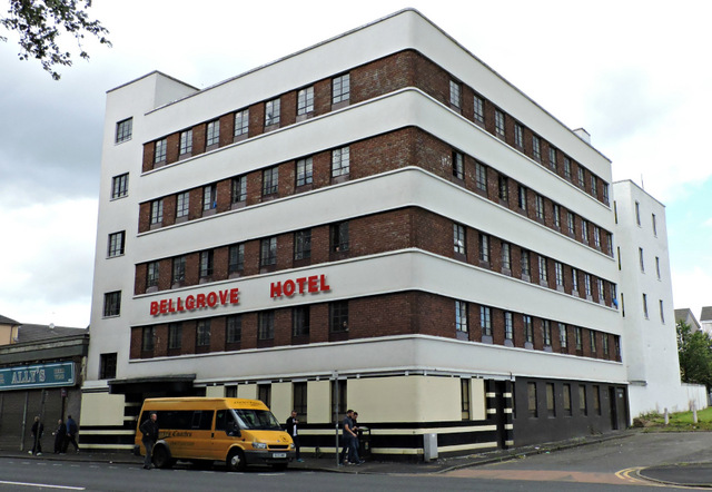 Belgrove 'Hotel', Glasgow. Homeless Accomodation.