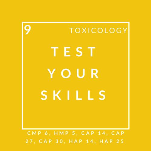 Toxicology Quiz 9