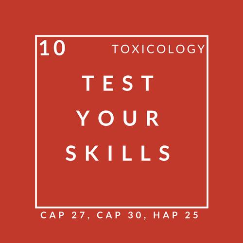 Toxicology Quiz 10