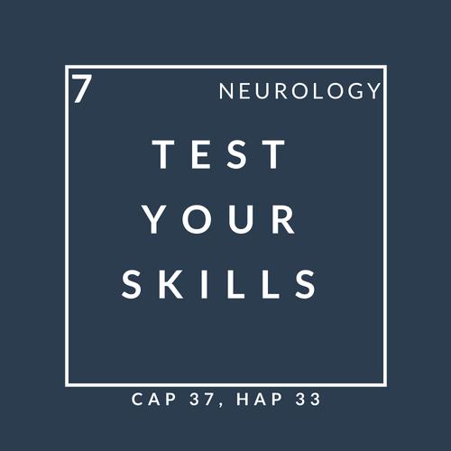 Neurology quiz 7