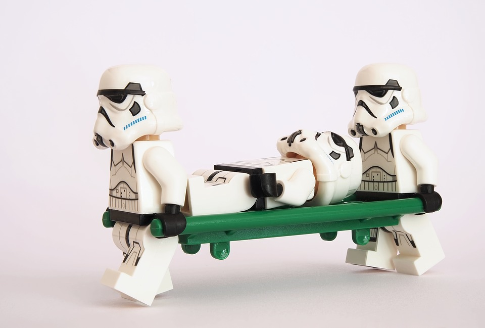 Stretcher Lego