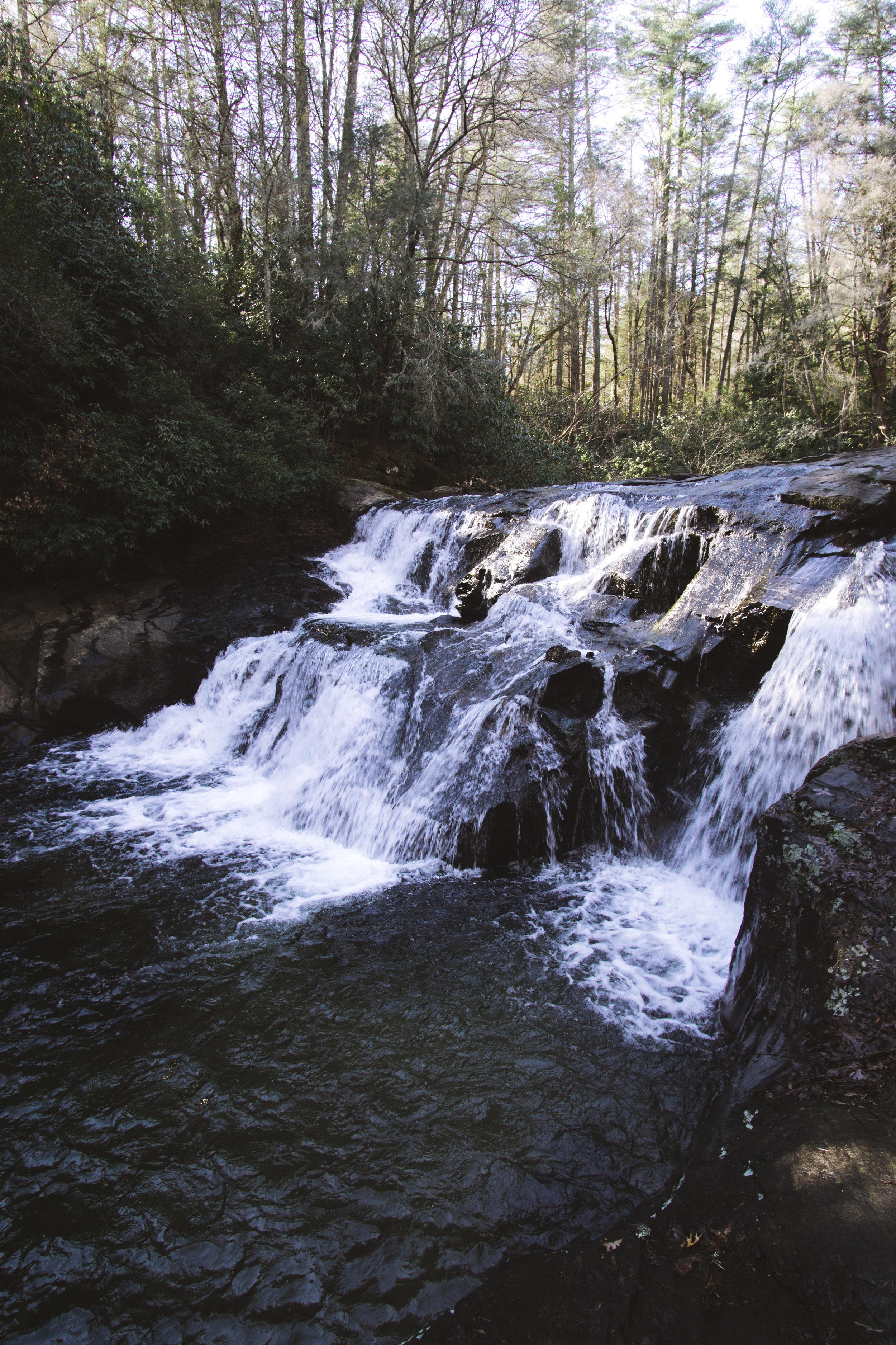 Dick's Creek Falls
