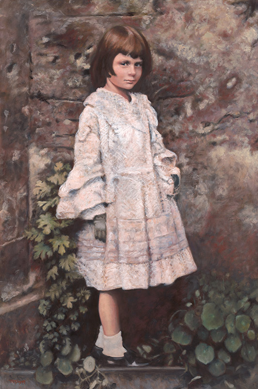 Alice Liddell, after a Photo by Charles Dodgson (Lewis Carroll)