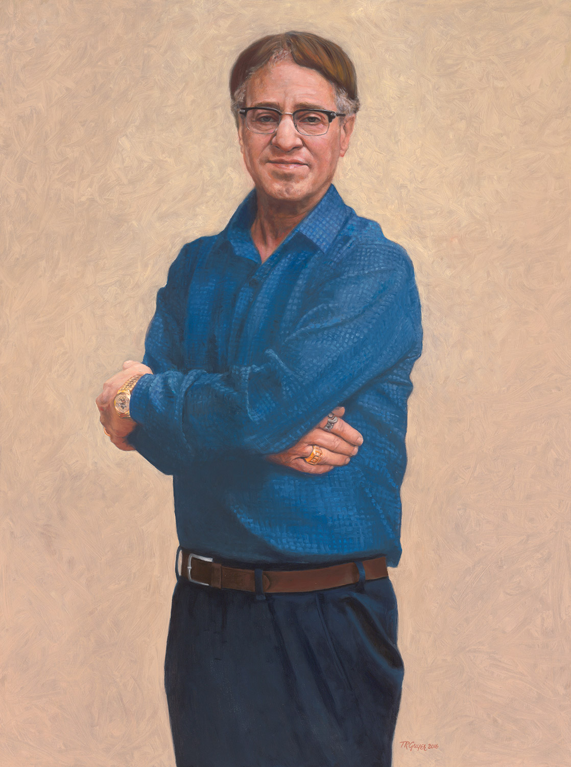 Portrait of Ray Kurzweil