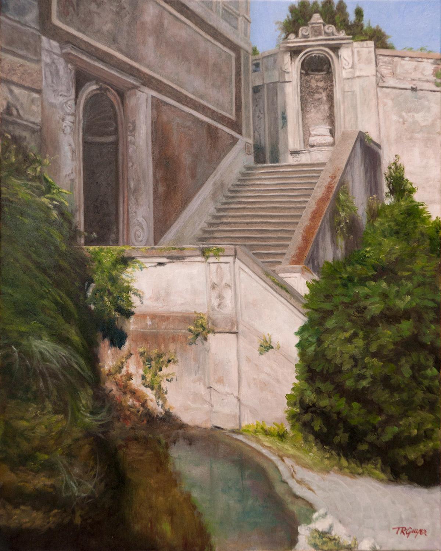 Ancient Roman Stairway