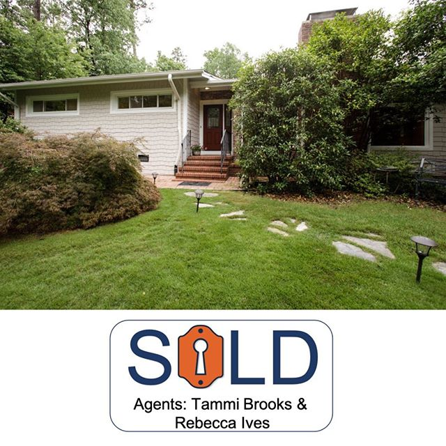 Congratulations to Tammi Brooks, Rebecca Ives, and their clients! • • 1114 Woodburn Rd, Durham | 4/2.5 | $465,000 • • #inhabitthetriangle #sellingdurham #bullcity #sold #durm #inhabitrealestate #TammiBrooks #RebeccaIves
