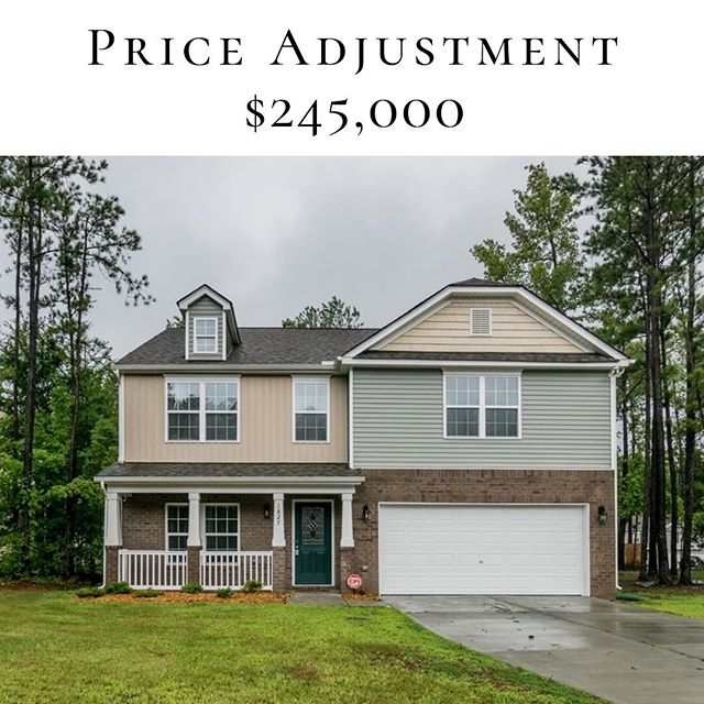 Price Adjustment Liz Dean - - 1827 Fillmore Dr, Creedmoor | 4/2.5 | $245,000 - - #inhabitthetriangle #creedmoornc #priceadjustment #NC #inhabitrealestate #LizDean