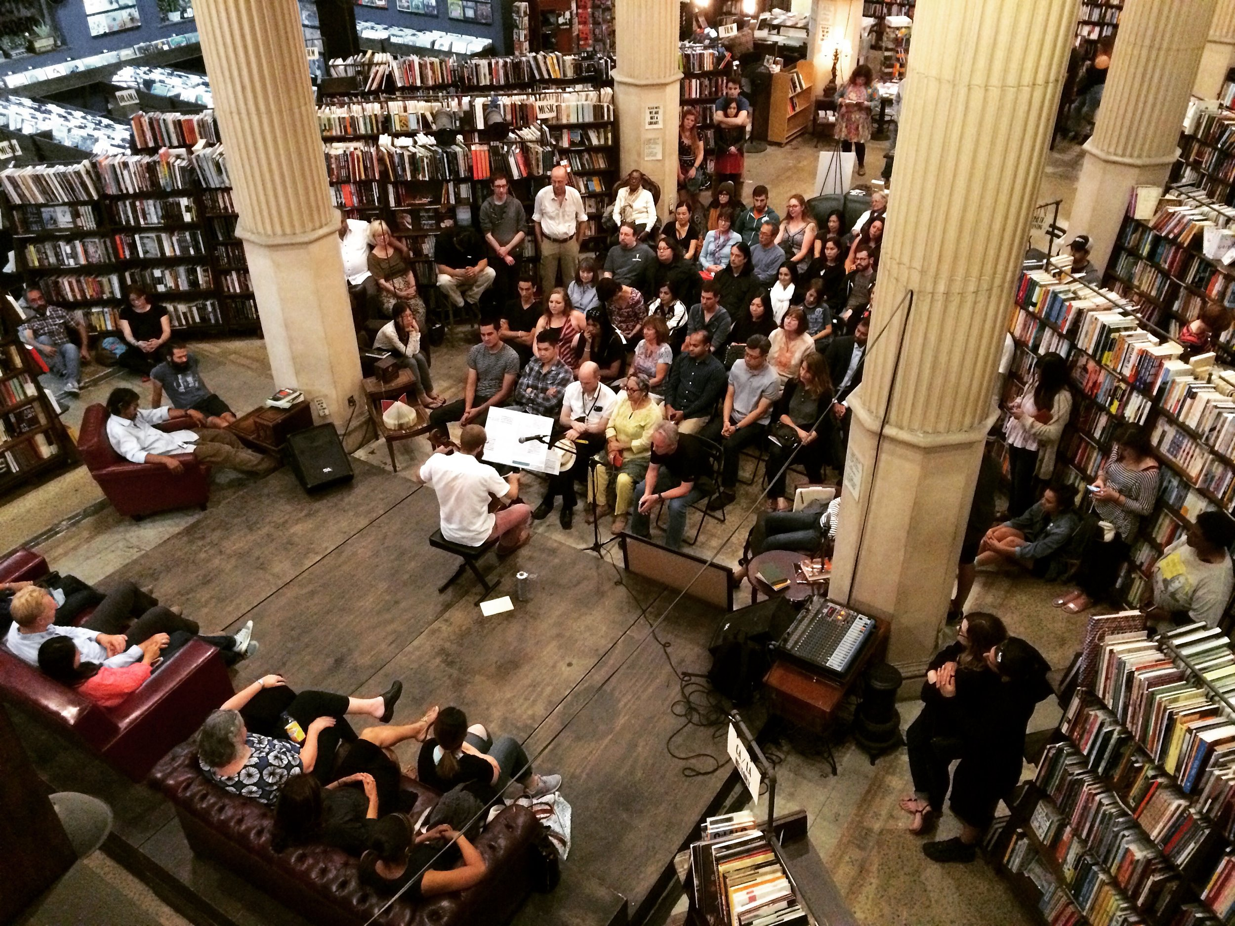 The Bach Reader, at the Last Bookstore (Los Angeles, CA)