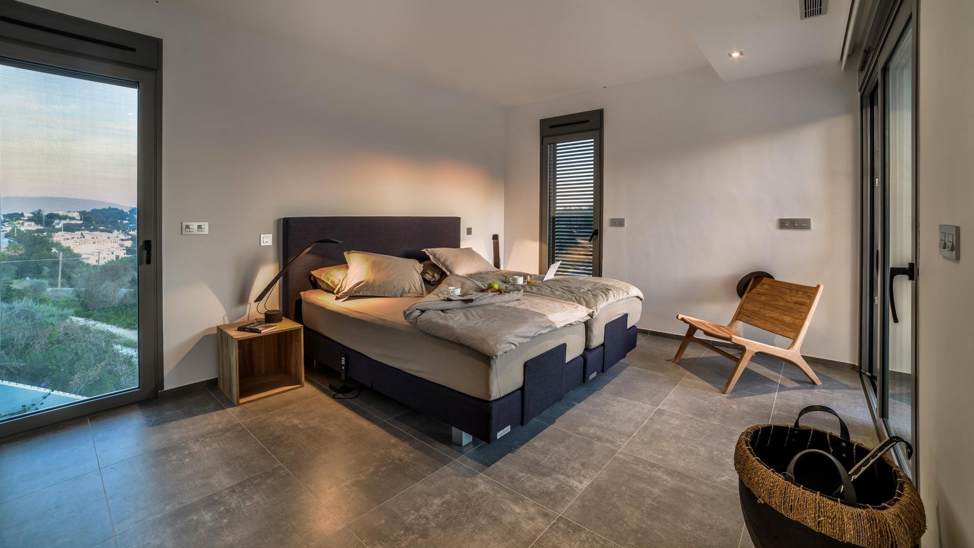 Master Bedroom van Villa Moraira